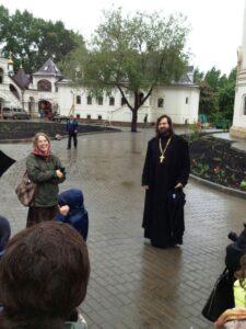 """Мы очень благодарны отцу Алексею за замечательное путешествие, за наш """"крайний день""""!"""