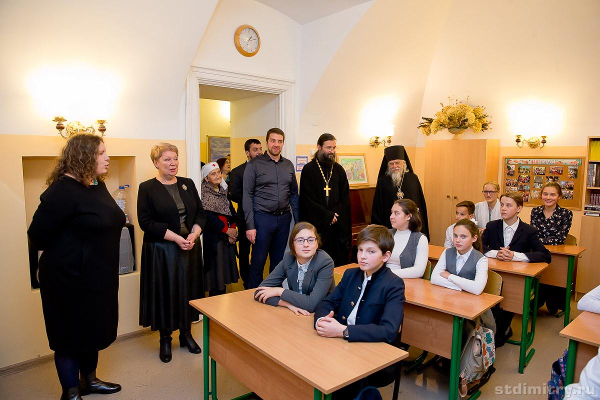 У нас в гостях министр Просвещения Российской Федерации О.Ю. Васильева!